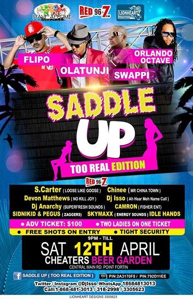 Saddle Up: Part 1