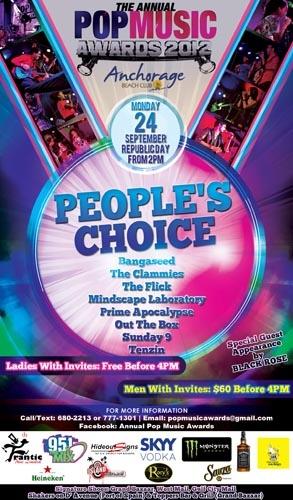 2012 Annual Pop Music Awards: People's Choice