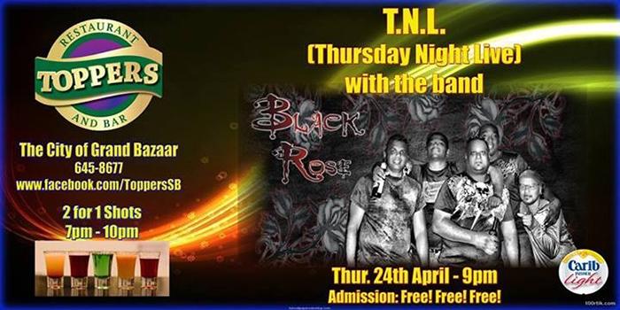 Retro Thursdaze/Thursday Night Live: Black Rose