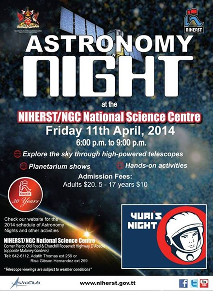Astronomy Night: Yuri's Night
