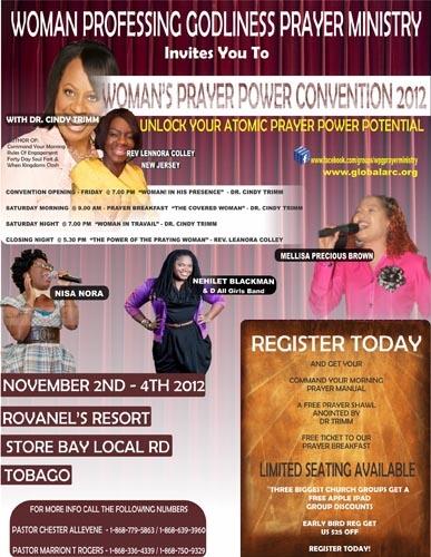 Woman Prayer Power Convention 2012 ID 1014