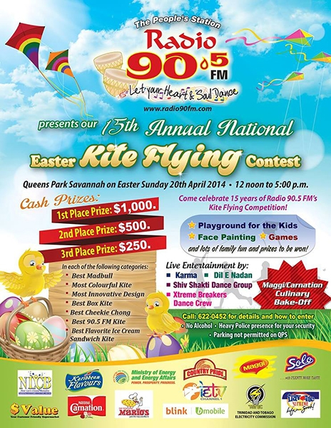 90.5FM's 15th Annual Easter Kite Flying Competition