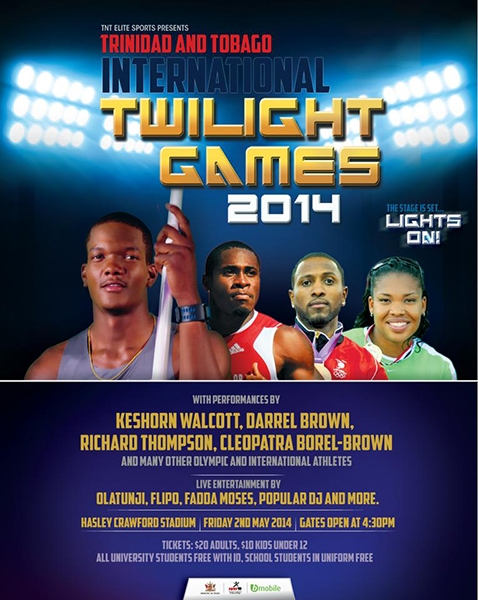 Trinidad & Tobago International Twilight Games 2014
