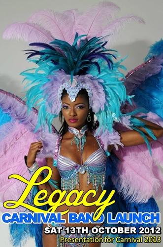 Legacy 2013 Band Launch: Trinbago to Rio