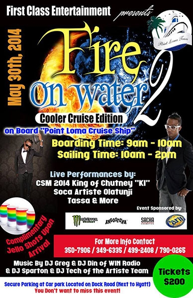 Fire On Water 2: Cooler Cruise