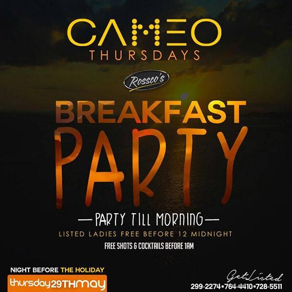 CAMEO Thursdays: Breakfast Party