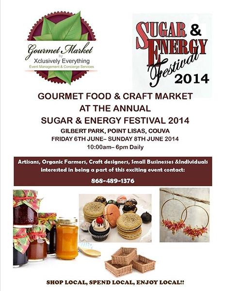 Sugar To Energy Festival 2014: Gourmet Food & Craft Market