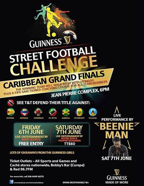 Guiness Street Football Challenge Caribbean Grand Finals