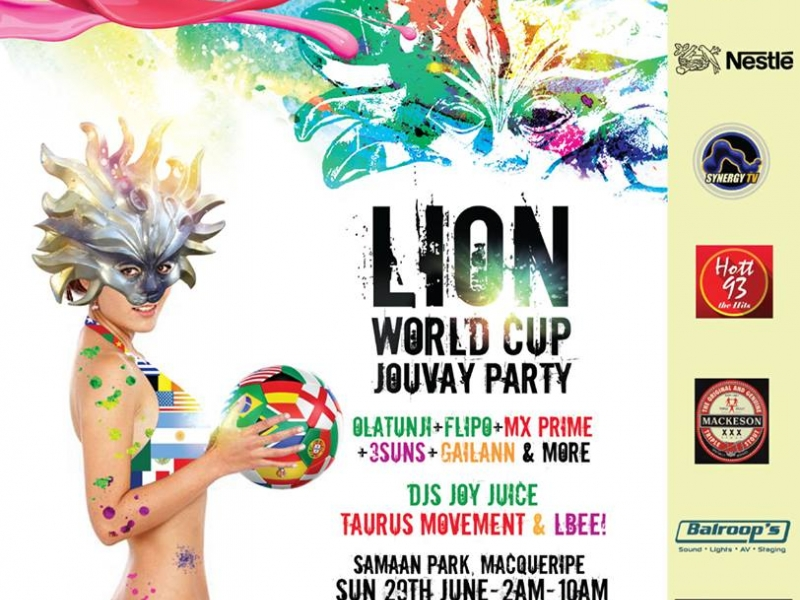 LION WORLD CUP JOUVAY PARTY