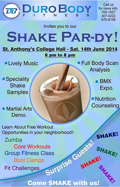 Shake Party ID 10876