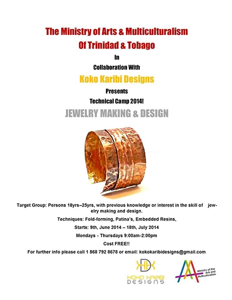 Jewelry Making & Design Technical Camp 2014