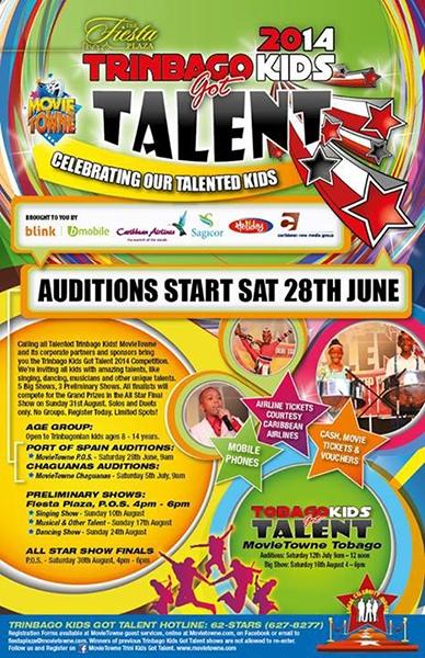 MovieTowne Trinbago Kids Got Talent 2014: Auditions
