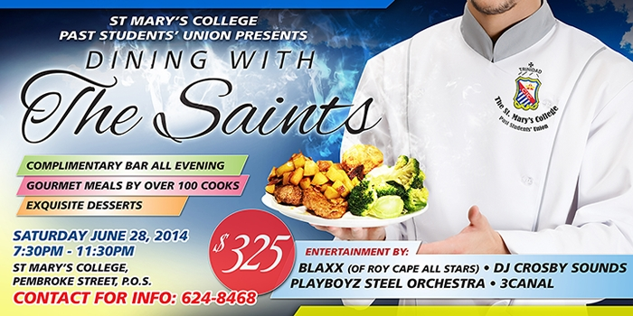 Dining With The Saints 2014