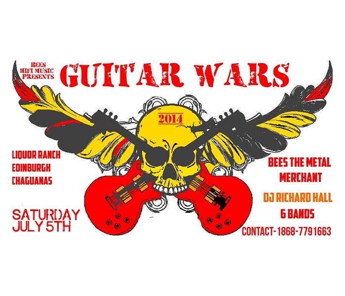 Bees Hifi Music Guitar Wars 2014
