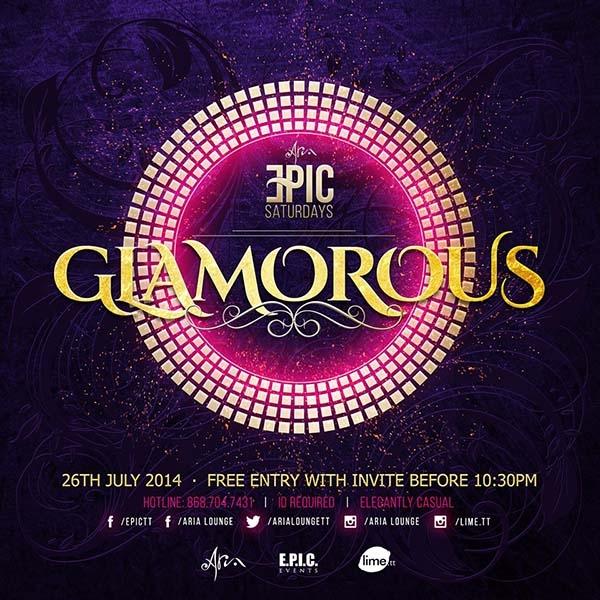 EPIC Saturdays: Glamourous