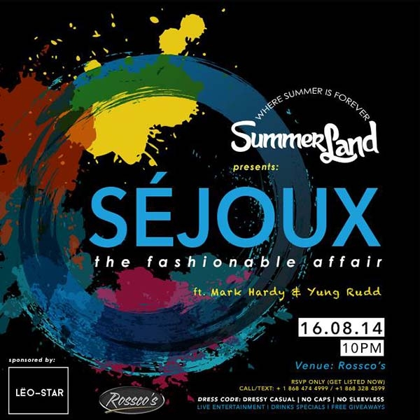 SÉJOUX | the fashionable affair
