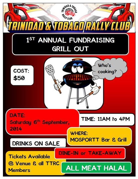 TTRC 1st Annual Fundraising Grill Out