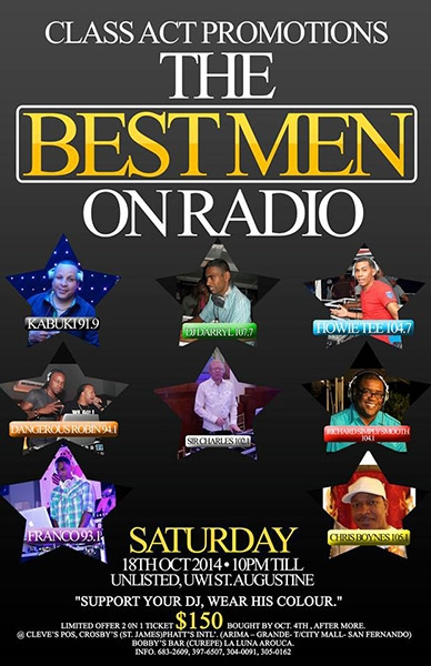 The Best Men On Radio