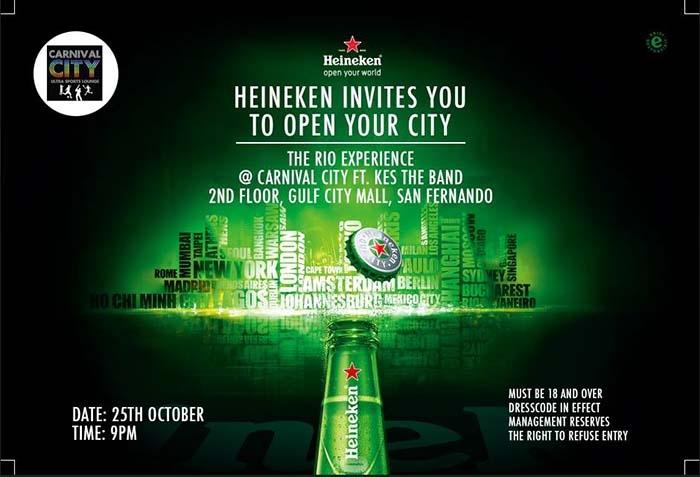 Heineken Rio Experience featuring KES Live!