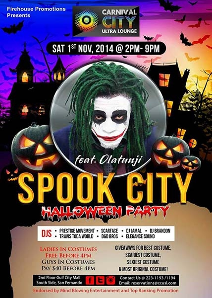Spook City Featuring Olatunji