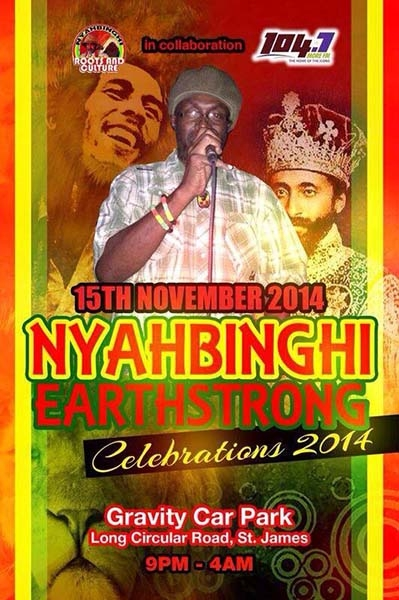 Nyahbinghi's Earthstrong Celebration 2014