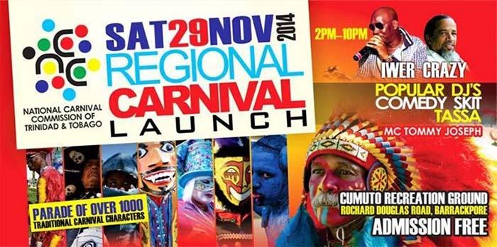 Regional Carnival Launch 2014