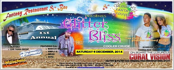 Colour My Fantasy J'ouvert 2015 Band Launch: Glitter Bliss