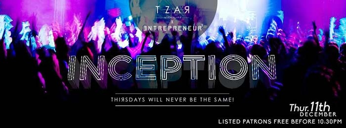 Tzar Thursdays: Inception