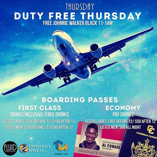 Duty Free Thursday