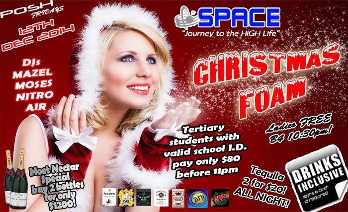 POSH Fridays: Christmas Foam