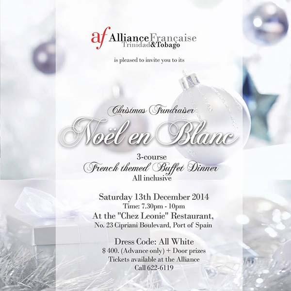 Christmas Fundraiser: Noël En Blanc