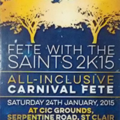 Fete With The Saints 2015