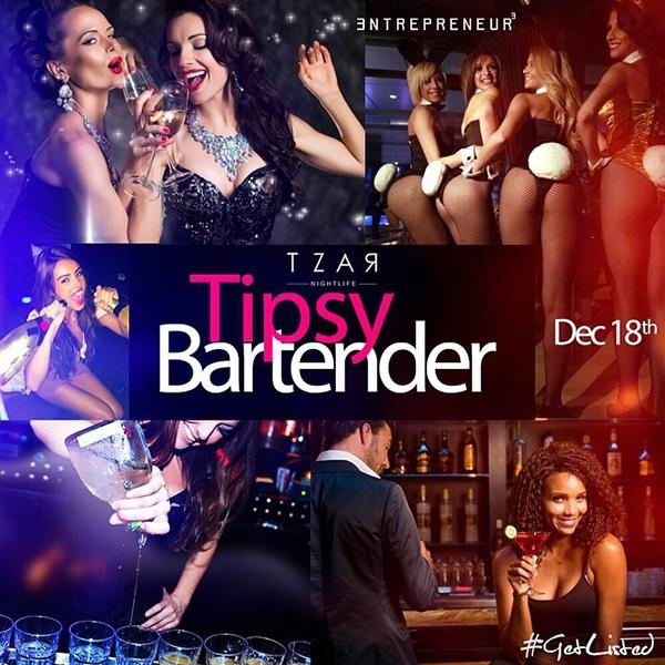 Tzar Thursdays: Tipsy Bartender
