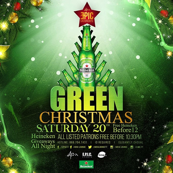 EPIC Saturdays: Green Christmas