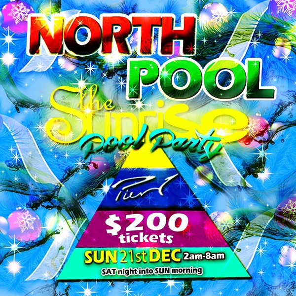 North Pool: The Sunrise Pool Party