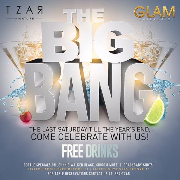 Glam Saturdays: The Big Bang