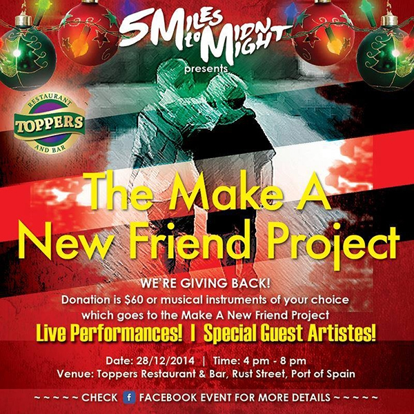 The Make A New Friend Charity Show
