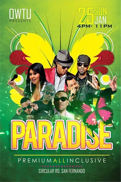 OWTU All Inclusive 2015: Paradise