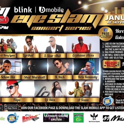 Eye Slam Concert Series 2015: Nadia Batson & SASS