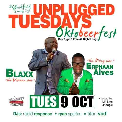 Unplugged Tuesdays! Blaxx & Erphaan Alves