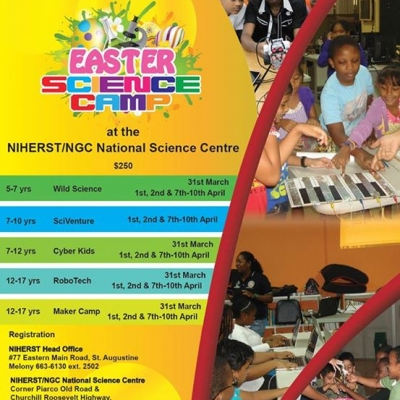 Easter Science Camp