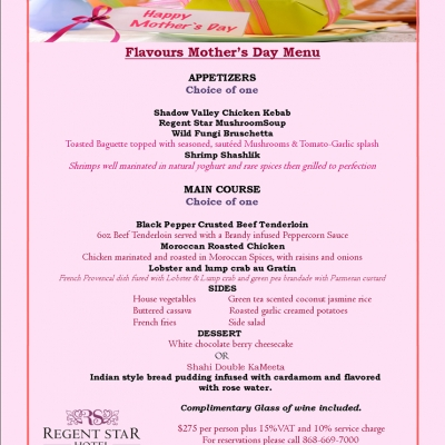 Flavours Mother's Day