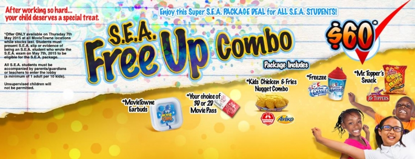 S.E.A. Free Up Combo