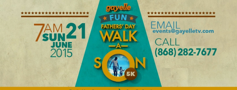Gayelle Fathers' Day Walk-A-Son 2015