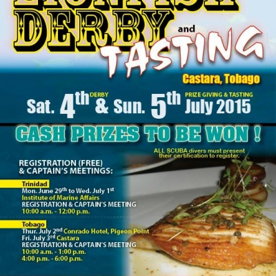 Lionfish Derby and Tasting