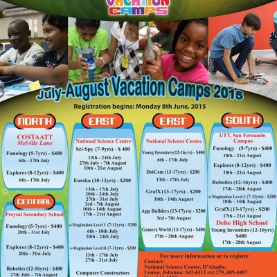 NIHERST Vacation Camp 2015: East