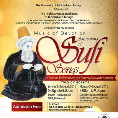Music of Devotion: An Evening of Sufi Songs