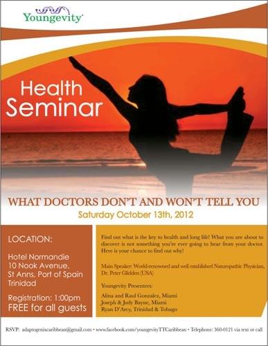 Free Natural Health Seminar