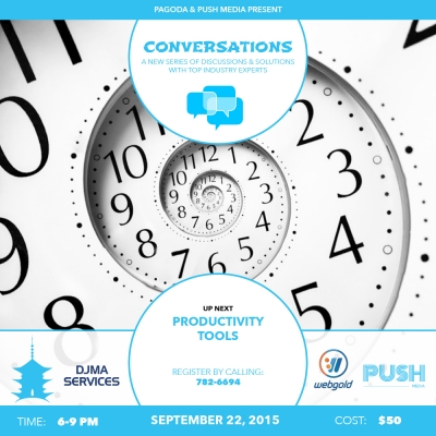 Conversations #5 - Productivity Tools