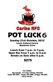 Caribs Pot Luck 6